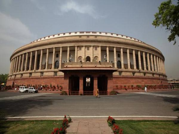 A view of Indian Parliament.