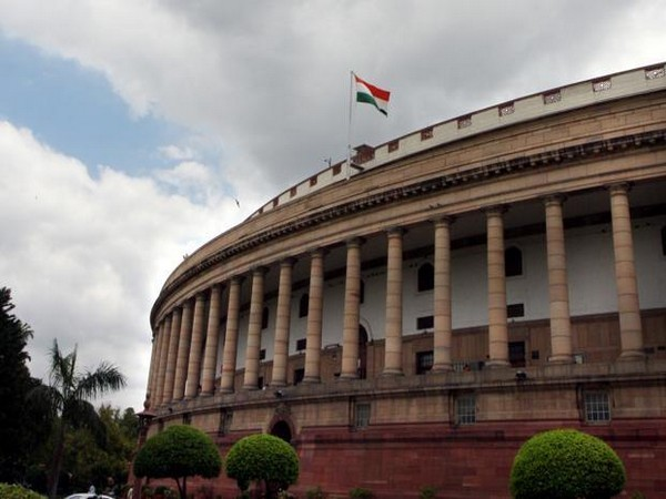 A view of Parliament of India.