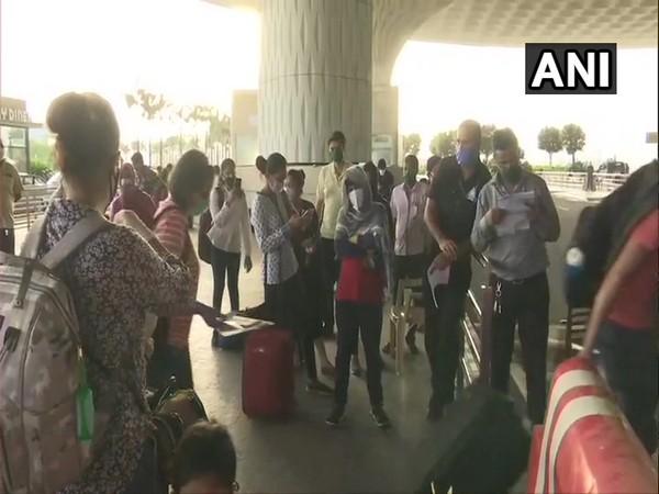Domestic air travel operations resume at Mumbai airport on Monday. Photo/ANI