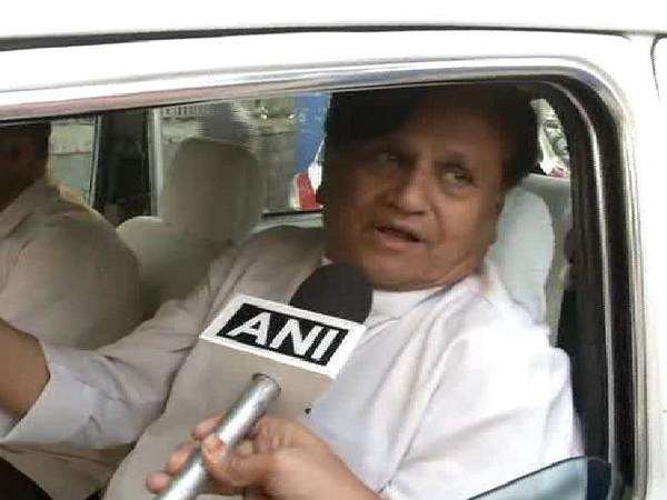 Congress MP Ahmed Patel. File photo/ANI