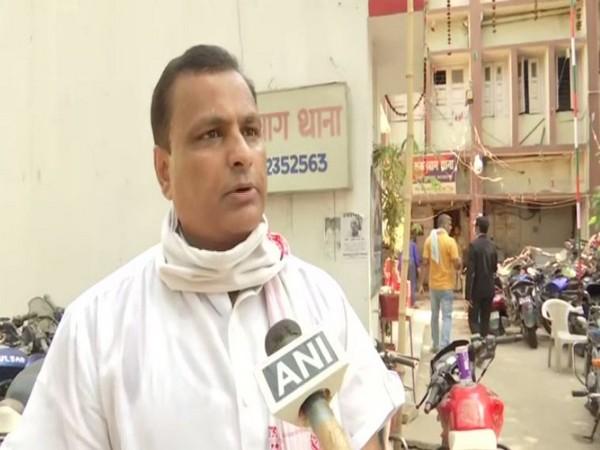 Former media in-charge of Bihar BJP unit Pankaj Singh speaking to ANI.