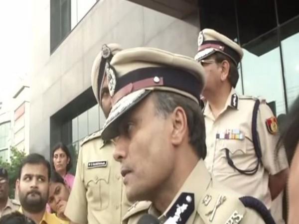 Amulya Patnaik, Delhi Police Commissioner talking to ANI in NEw Delhi on Wednesday