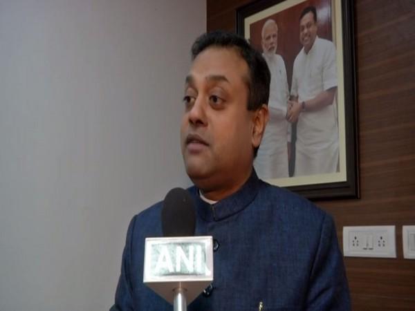 BJP leader Sambit Patra speaking to ANI in New Delhi on Saturday. Photo/ANI