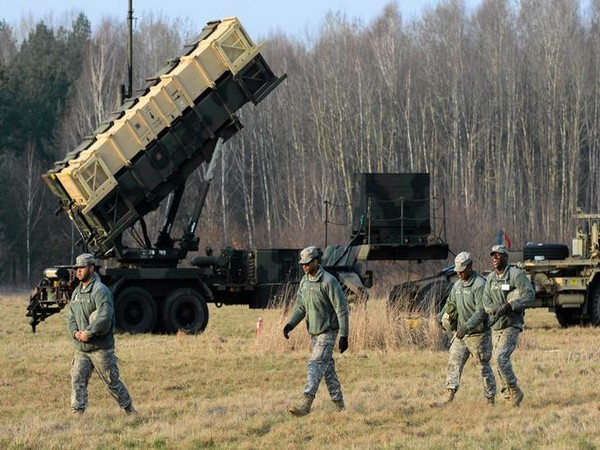US Patriot missile defence battery (File photo)