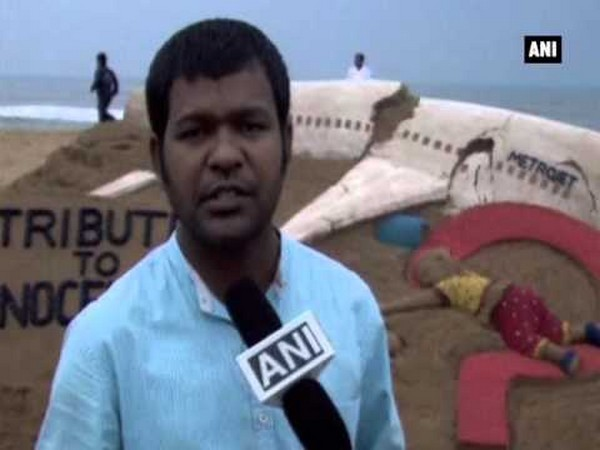 Sudarsan Pattnaik (File Photo/ANI)