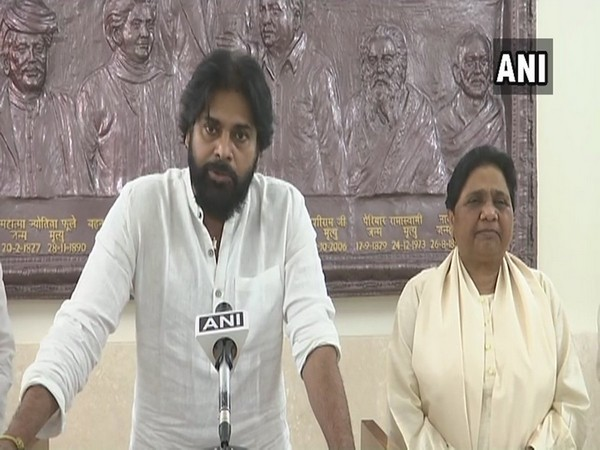 Pawan Kalyan and Mayawati (File pic)