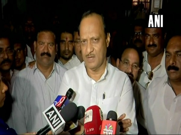 Nationalist Congress Party leader Ajit Pawar (File photo/ANI)