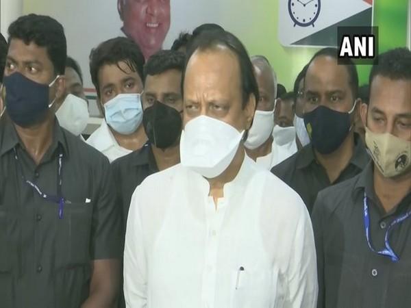 Maharashtra Deputy  Chief Minister Ajit Pawar. (Photo/ANI)