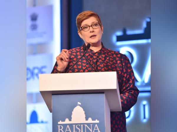 Australian Foreign Minister Marise Payne (file photo)
