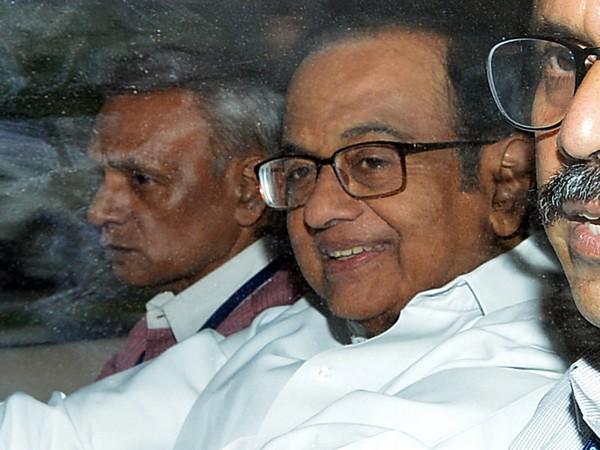 Former finance Minister P Chidambaram (file pic)