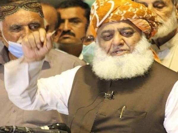 Pakistan Democratic Movement's chief Maulana Fazlur Rehman