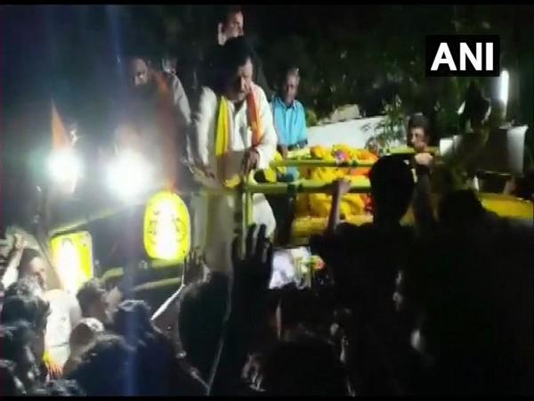 Andhra Pradesh Minister N Chinarajappa