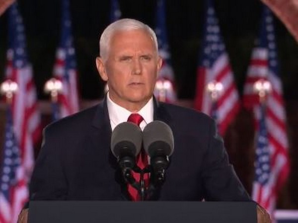 US former Vice President Mike Pence