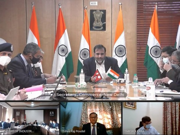 The virtual meeting was led by commerce secretaries of both countries.