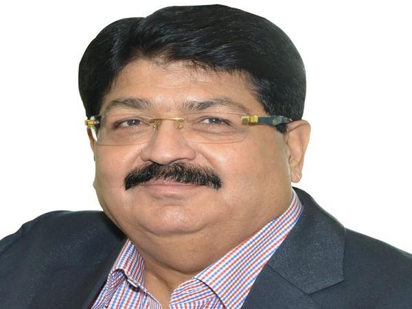 Parimal Nathwani, Member of Parliament from Andhra Pradesh. (Photo/ANI)