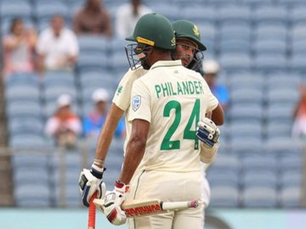 South Africa all-out on 275, India still on 326-run lead. (Photo/ BCCI Twitter)