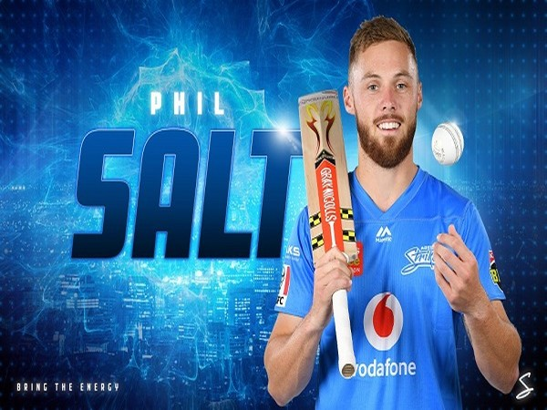 Opening batsman Phil Salt (Photo/Adelaide Strikers Twitter)