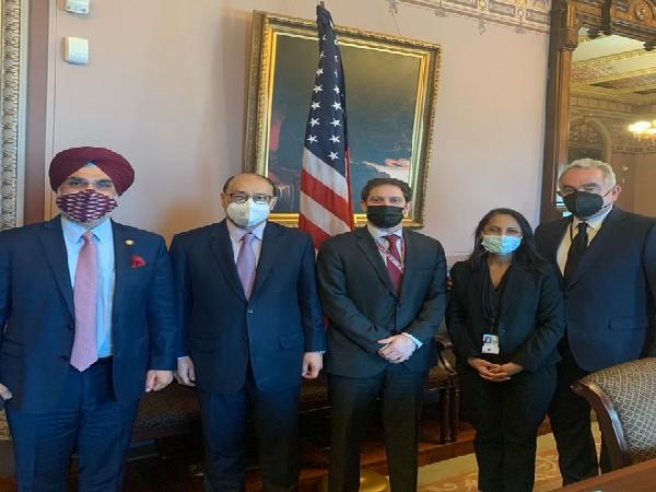 Foreign Secretary Harsh Vardhan Shringla met with US Principal Deputy National Security Advisor Jon Finer on Friday.