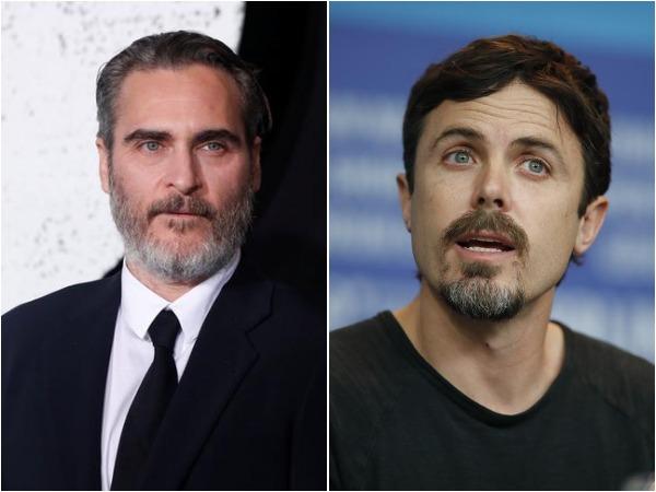 Joaquin Phoenix and Casey Affleck