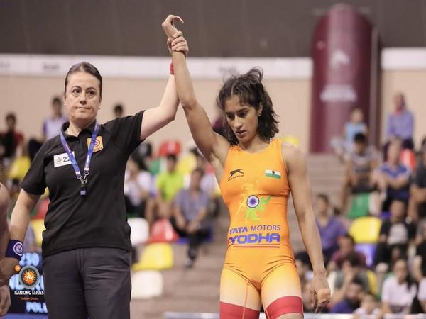 Indian wrestler Vinesh Phogat