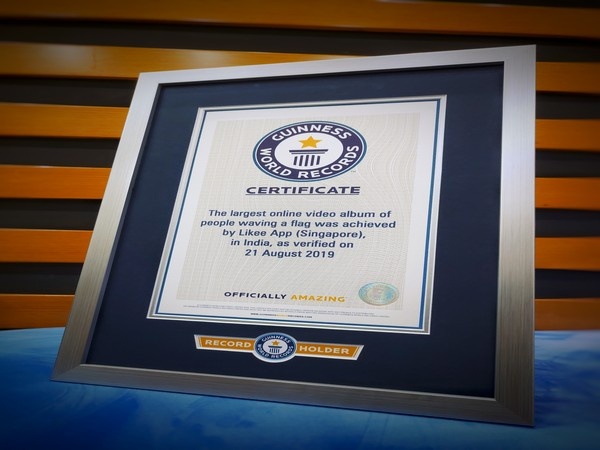 Likee creates Guinness World Record for its Independence Day campaign.
