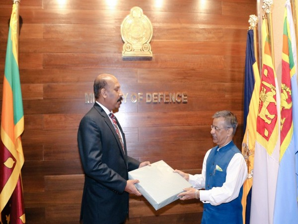 Sri Lanka's Defense Secretary Gen. Kamal Gunaratne (Retd) expressed his appreciation to the Indian High Commissioner in Colombo.