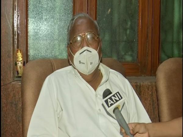 Senior Telangana Congress leader V Hanumantha Rao (File Photo/ANI)