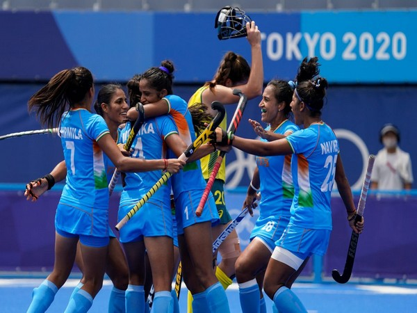 Indian women's hockey team today created history as they qualified for the semi-finals of the Olympics. (Photo Credit: Australia's HC to India Barry O'Farrell Twitter)