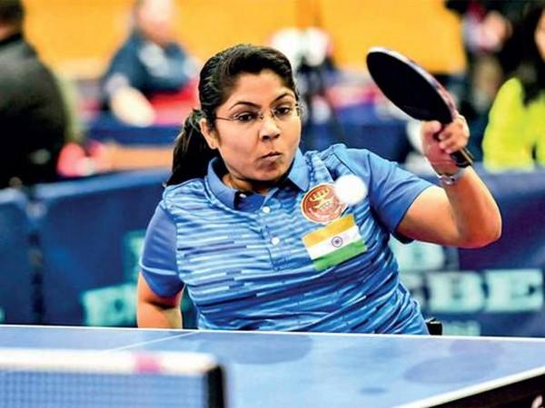Para Table Tennis player Bhavina Patel (Image: PIB India's twitter)