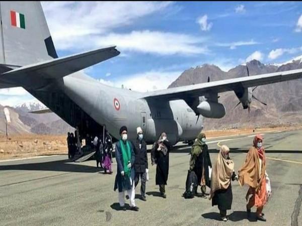 Iran returned pilgrims land at Kargil air base
