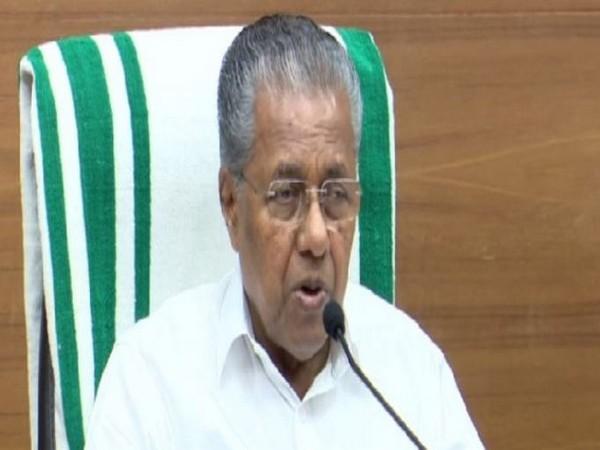 Kerala Chief Minister Pinarayi Vijayan. Photo/ANI