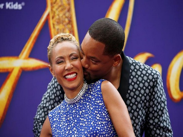 Jada Pinkett Smith along with husband Will Smith