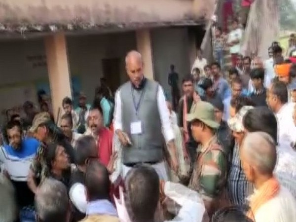 Congress candidate brandished pistol in Palamu on Saturday during Assembly elections