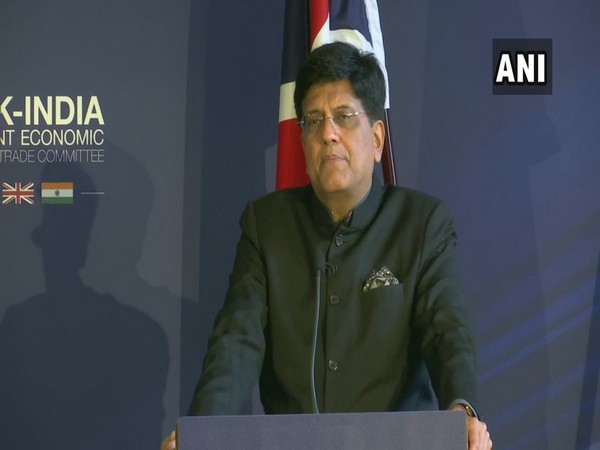 Union Minister Piyush Goyal spoke at UK-India Joint Economic and Trade Committee meeting in London on Monday.