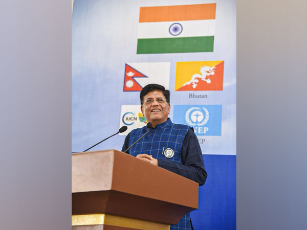 Union Minister PiyushGoyal attended the Global Law Conference in Chandigarh [Photo/Twitter]