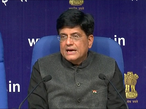 Union Minister Piyush Goyal (File Photo/ANI)
