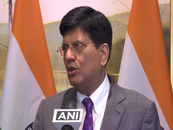 Union Commerce and Industry Minister Piyush Goyal speaking to ANI in New York on Wednesday.