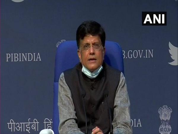 Union Minister of Railways Piyush Goyal. (Photo/ANI)