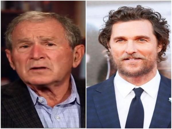 George W. Bush and Matthew McConaughey