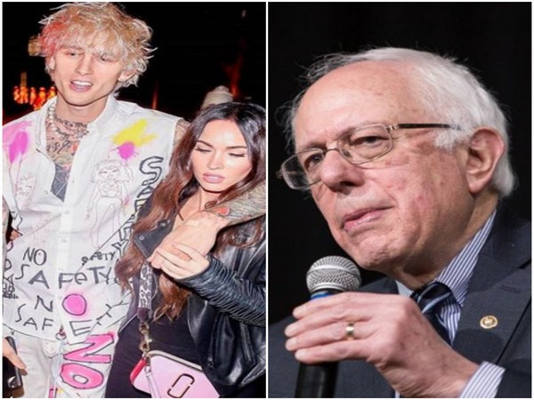 Machine Gun Kelly, Megan Fox and Bernie Sanders