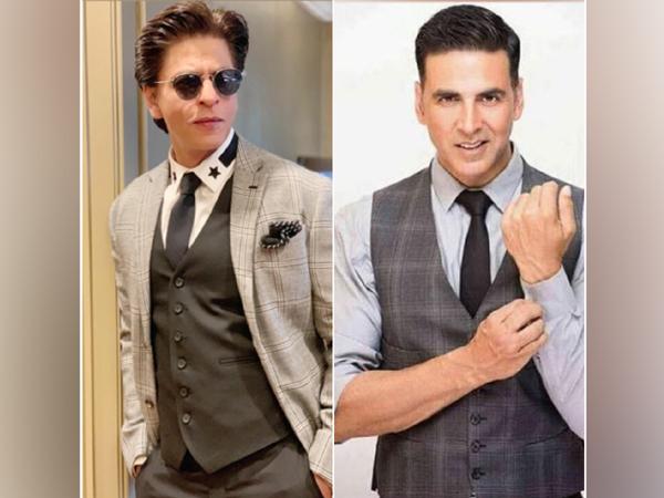 Shah Rukh Khan and Akshay Kumar (Image source: Instagram)