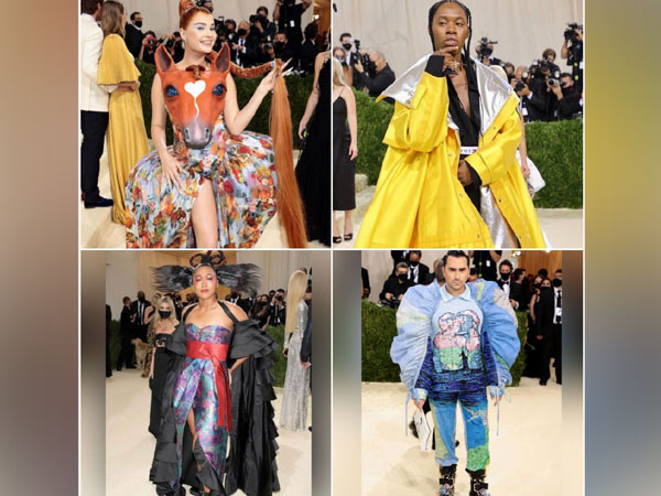 Some of the most unique outfits from Met Gala 2021