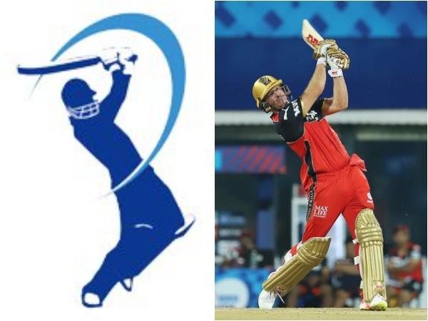 IPL logo (L) and AB de Villiers (R)