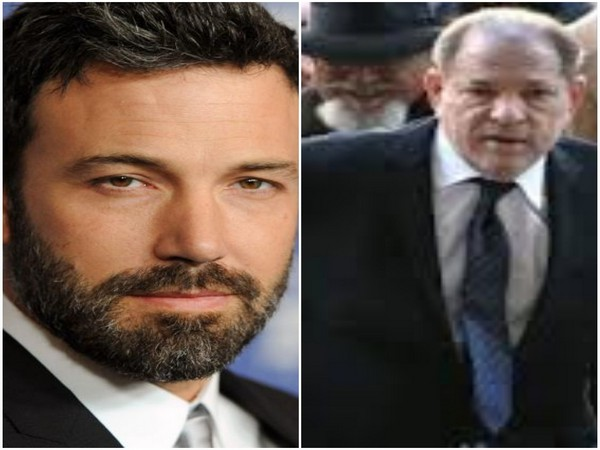 Actor Ben Affleck and Harvey Weinstein (Image courtesy: Instagram)