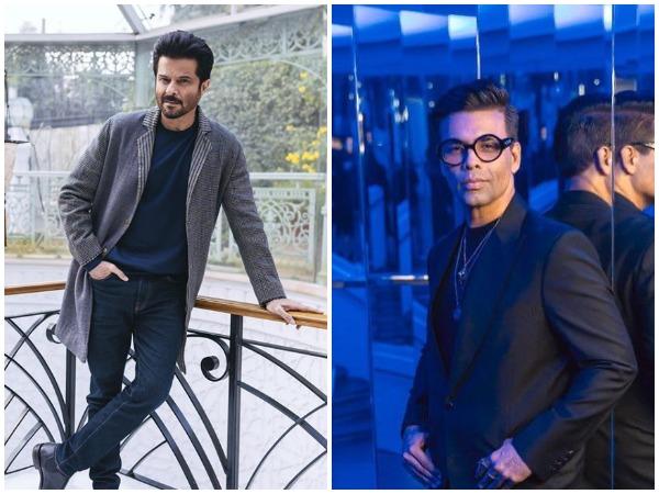 Actor Anil Kapoor and Filmmaker Karan Johar (Image courtesy: Instagram)