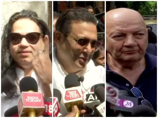 Kailash Kher, Govinda, Prem Chopra