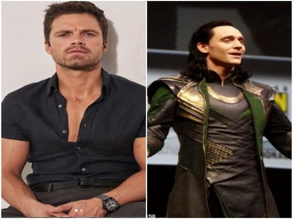 Sebastian Stan and Tom Hiddleston [Photo courtesy: Instagram]