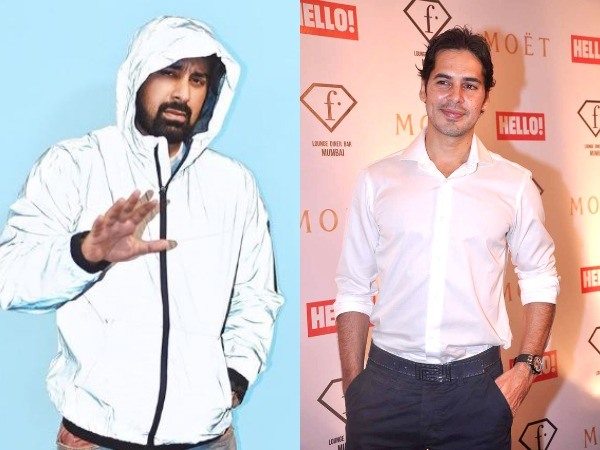 Television personality Rannvijay Singha and actor Dino Morea