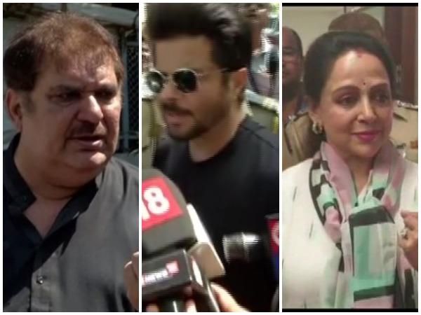 Raza Murad, Anil Kapoor, Hema Malini