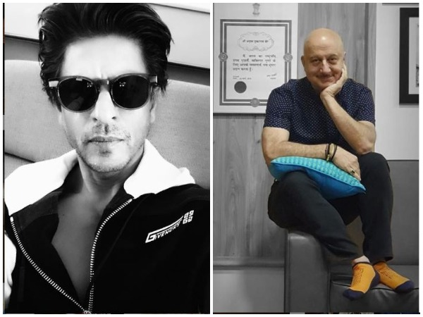 Shah Rukh Khan and Anupam Kher (Image courtesy: Instagram)